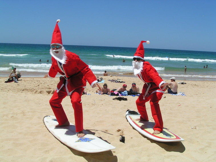jul i australien traditioner