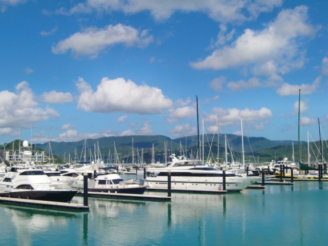 En av mina egna bilder precis innan vår resa runt Whitsunday Islands.