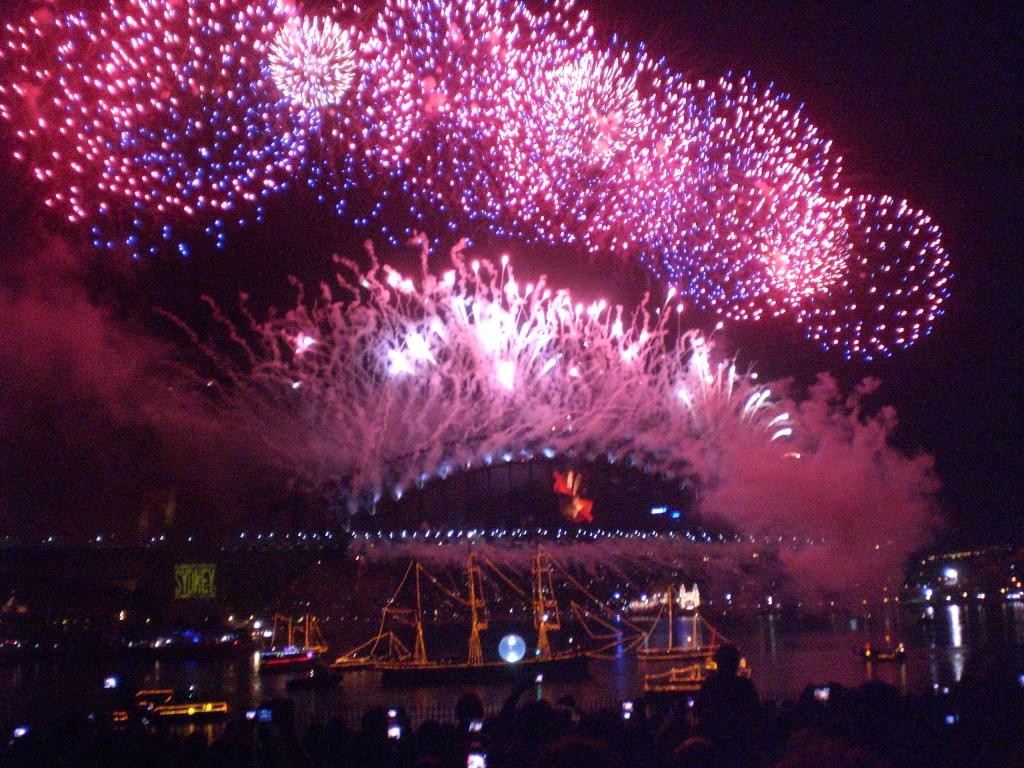 Nyår i Sydney 2010