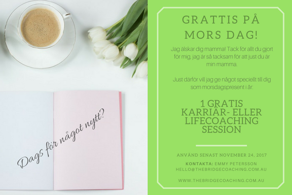 Mothers Day gift card Sweden